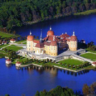 Schloss Moritzburg - Moritzburg/Sachsen - Deutschland