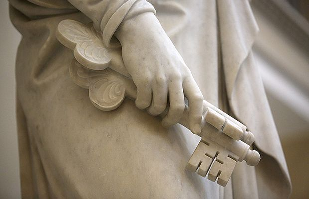 A Closer Look At Symbolism Of Christus And Ancient Apostles Statues In Rome Church News And Events Rome Church Of Our Lady Doctrine And Covenants