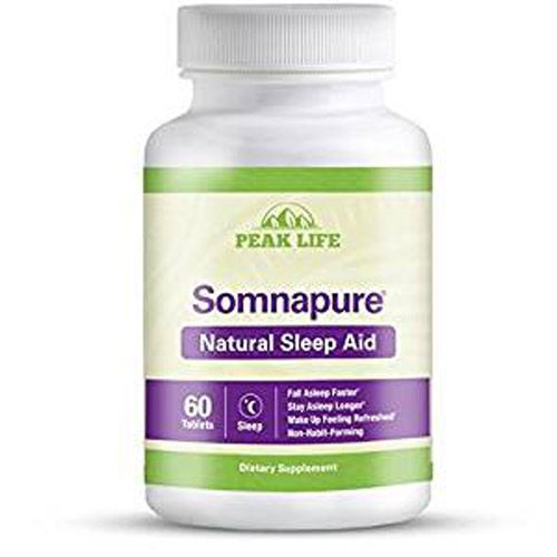 Somnapure Natural Sleep Aid is a sleeping supplement made from natural ingredients. It creates a chilling restfulness that aids the consumer fall asleep easily.