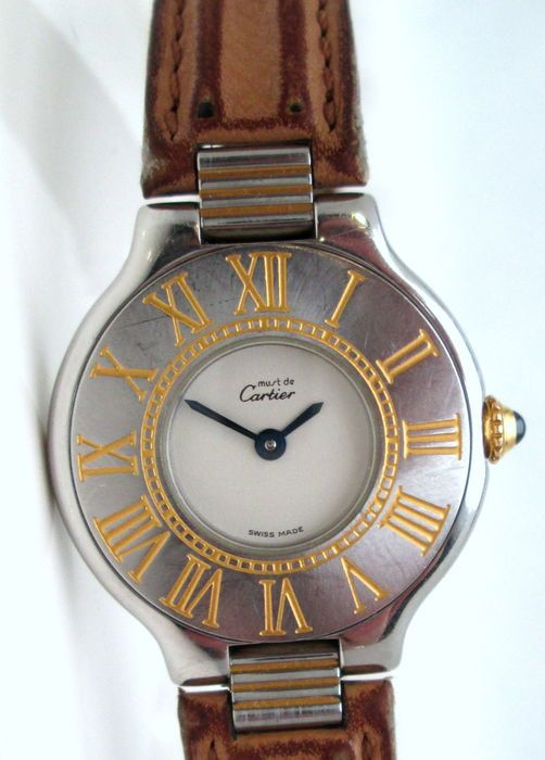 Catawiki online auction house: Must de Cartier - Ladies' Wristwatch