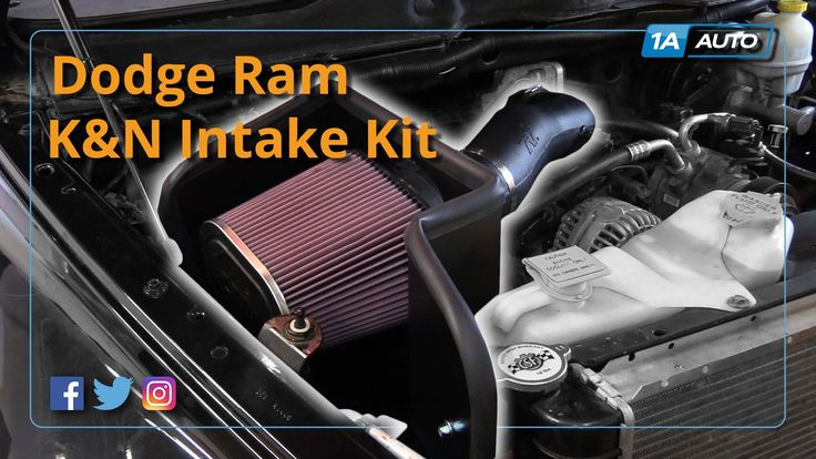 Latest Dodge RAM – How to Install High Performance Intake Kit 2003-08 Dodge Ram 5.7L BUY QUALITY PARTS AT 1AAUTO.COM – 95153 San Jose CA Summer 2017.    In this video 1A Auto shows you how to install, change, upgrade to a performance air intake kit. This video is applicable to the...