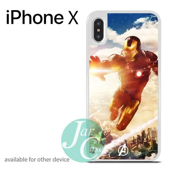 Flying Ironman Phone case for iPhone X