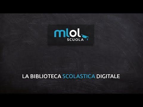 MLOL Scuola. Il prestito digitale per le biblioteche scolastiche - YouTube
