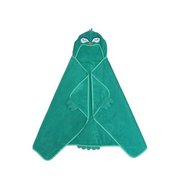 Peacock Hooded Bath Towel - Tropical Green - Pillowfort™ : Target ❤ liked on Polyvore featuring home, bed & bath, bath, bath towels, tropical bath towels and green bath towels