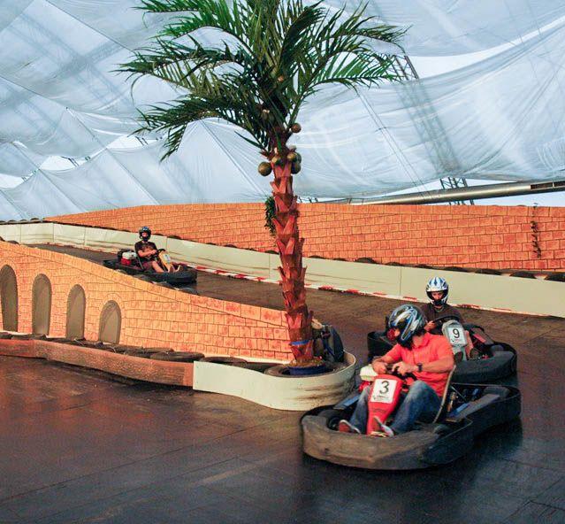 MONACO Grand Prix, motokárové dráhy v hale a terénne dráhy pre buggy a štvorkolky Zľava: 10%; 20% VIP