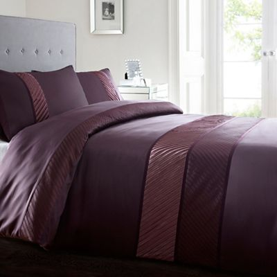 The 8 best bedroom images on pinterest duvet debenhams and home collection purple toronto duvet and pillowcase set at debenhams mobile gumiabroncs Image collections