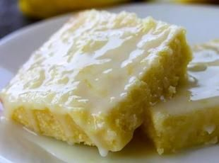 Lemon Brownies Recipe
