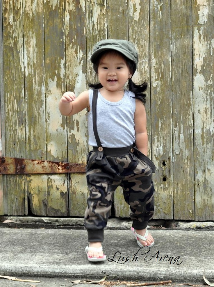 Featured: RYB Army Fatigue Pants