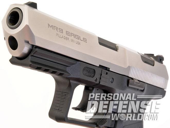 Gun Test: MR9 Eagle, Magnum Research's Covert 9mm PistolFind our speedloader now!  http://www.amazon.com/shops/raeind