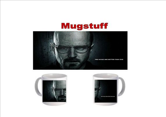Picture Mug which can be Personalised Two Minds Better by Mugstuff, £5.00
