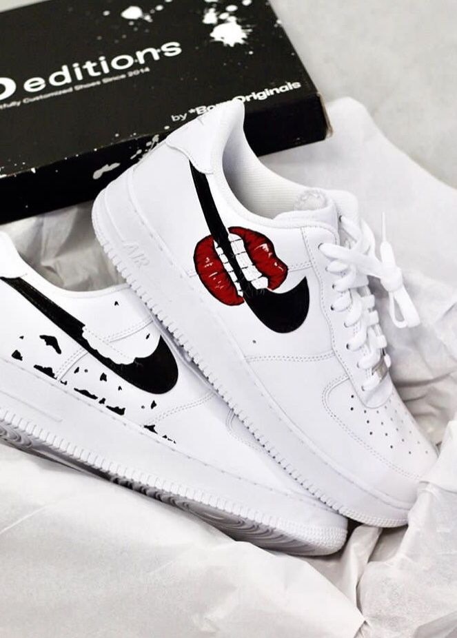 air force AF1 in 2019Nike shoesNike shoes air 'Lips' cj3L5Aq4R