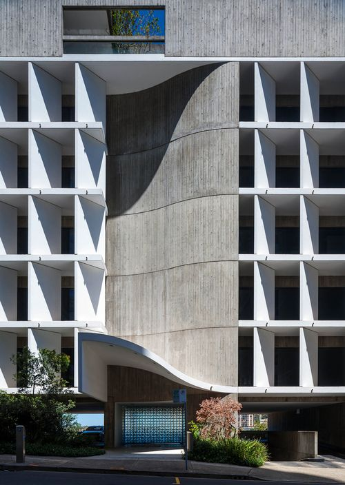 Architecture always about light and shadow - Seidler Offices & Apartments, Sydney  Harry Seidler & Associates