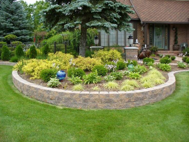 Making your own hypertufa retaining wall blocks for Garden block wall ideas