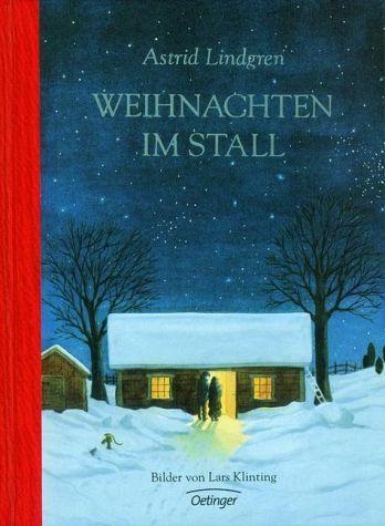 Buchcover: Astrid Lindgren: Weihnachten im Stall