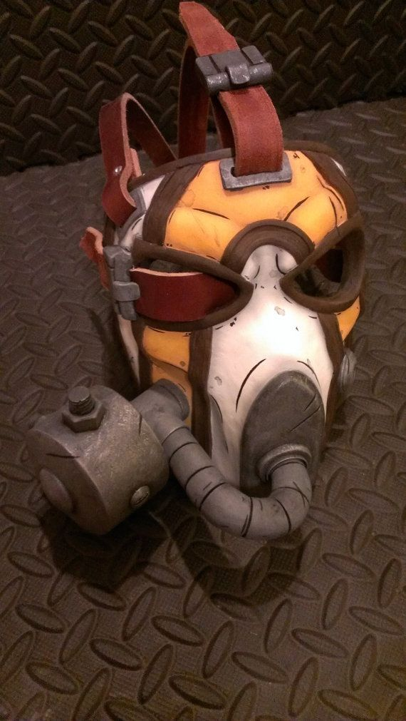 Krieg's Mask Borderlands 2  Custom Deluxe 'Extra by HenchmenProps, $295.00