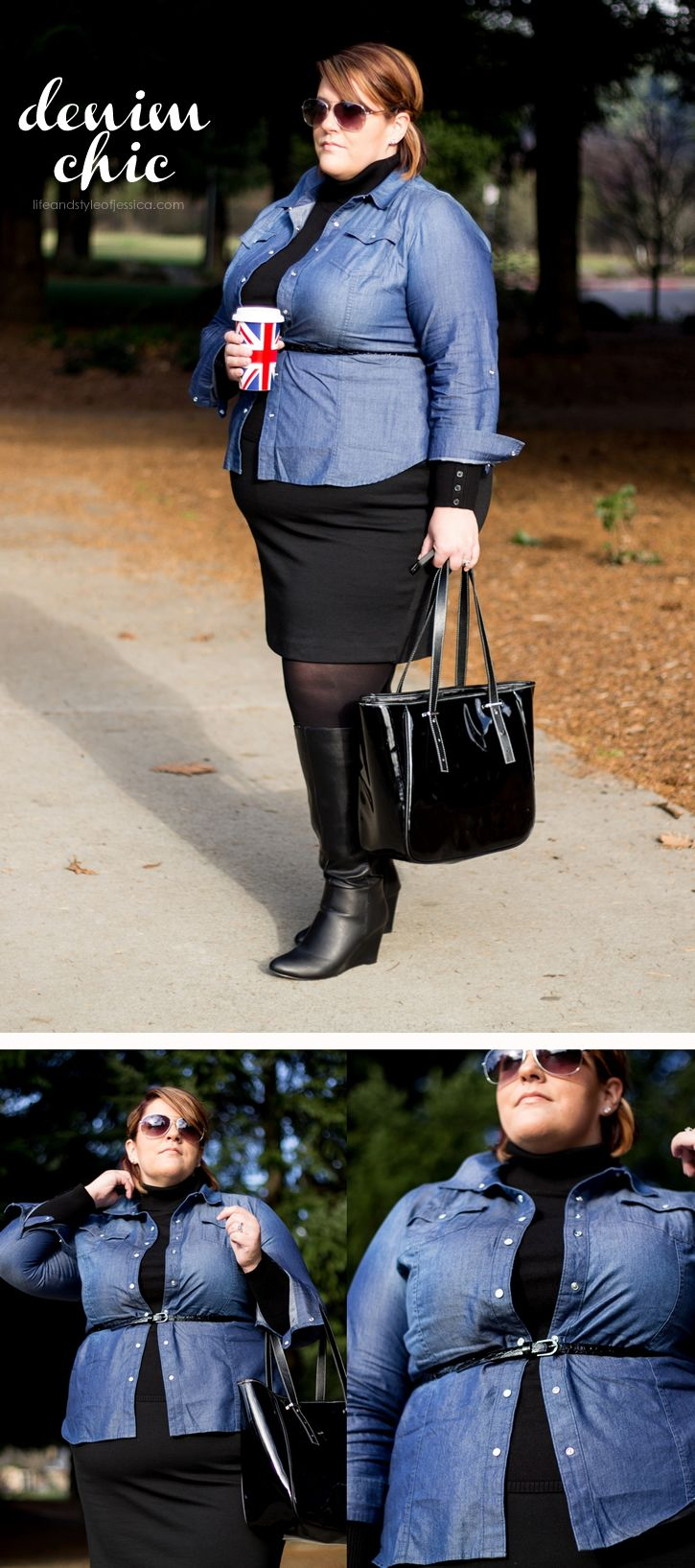 Life & Style of Jessica Kane { a body acceptance and plus size fashion blog }: Layer Inspiration for Winter & $100 Giveaway