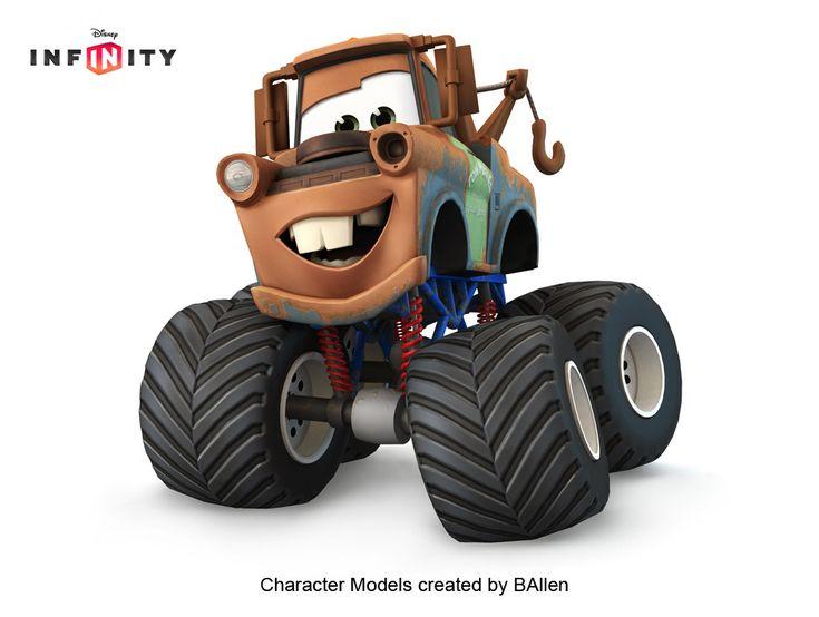 ArtStation - Mater Monster Truck : Disney Infinity : by ...