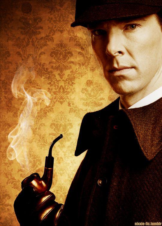 Картинка с шерлоком холмсом