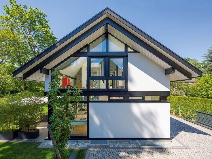 26 besten designerhaus bilder auf pinterest moderne h user ansicht und bauhaus. Black Bedroom Furniture Sets. Home Design Ideas