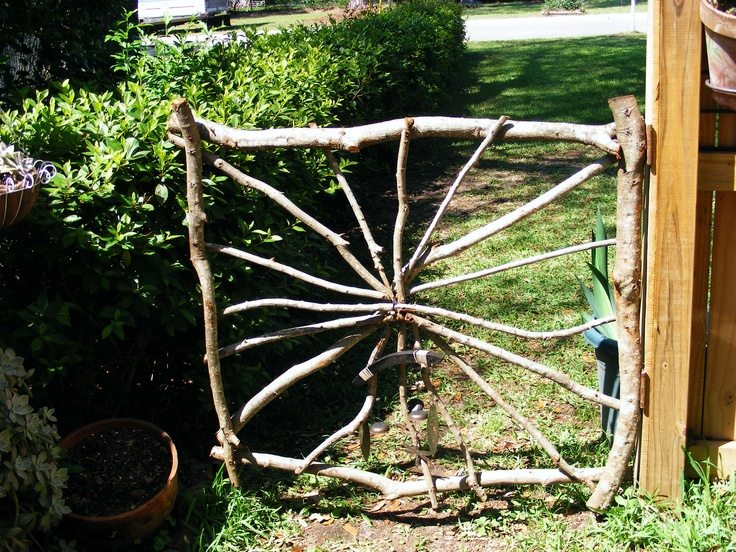 Images about tree branch gates on pinterest