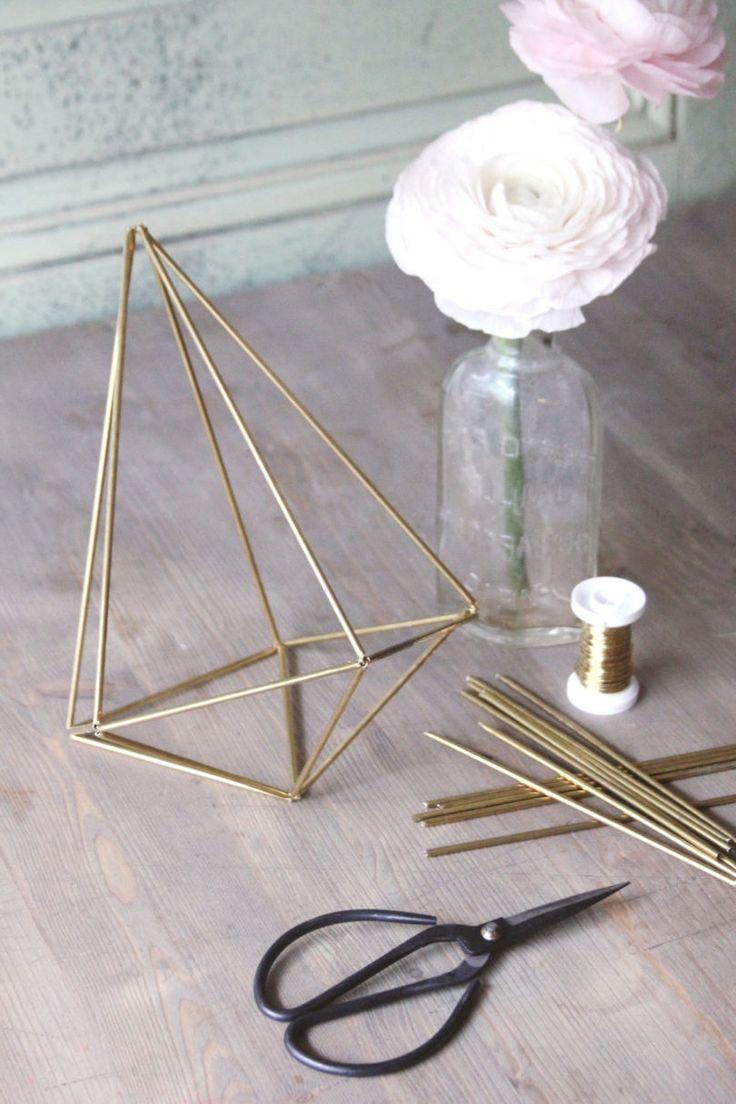Awesome  Minimalistische DIY Deko Ideen f r moderne Wohnzimmer