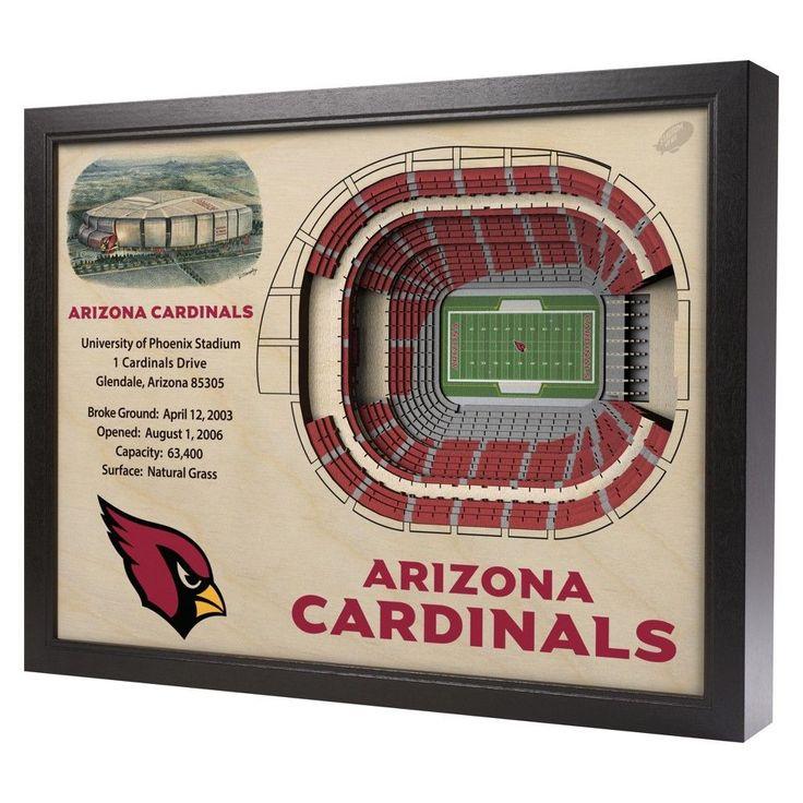 NFL Arizona Cardinals StadiumViews Wall Art - University of Phoenix Stadium