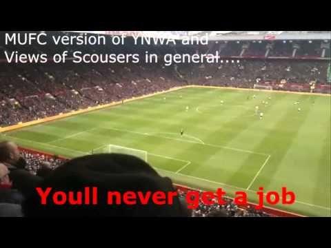 ▶ Man Utd Fans Funny Football Chants - Luis Suarez, You'll never get a Job, Andy Carroll, Liverpool. - YouTube