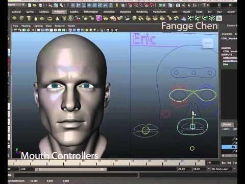 Maya Character Facial Rigging Reel Blend Shape - YouTube | Knawledge