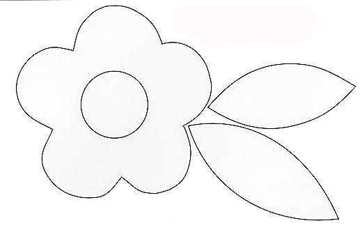 Moldes para patchwork de flores - Imagui