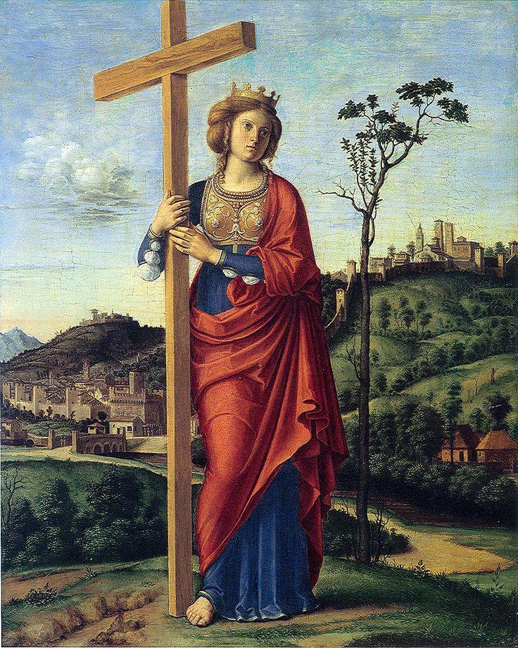583. Cima da Conegliano - Sant'Elena - 1495 - Washington,  National Gallery of Art