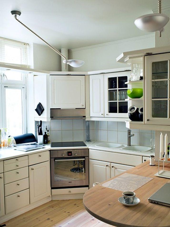 Moderne kjøkkenbelysning