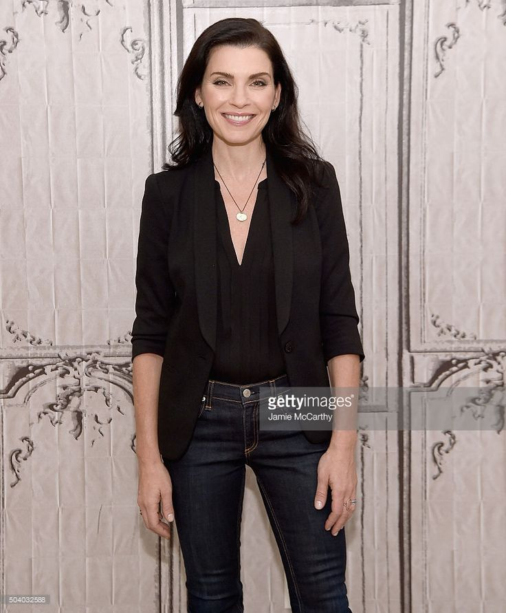 Julianna Margulies attends the AOL BUILD Series at AOL Studios In New York on…