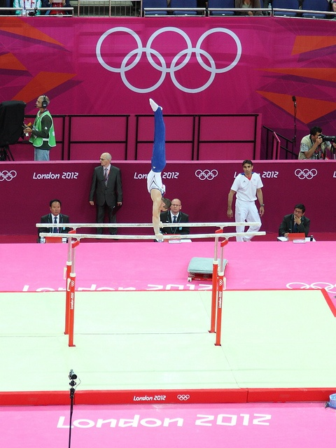 Men's Preliminary Artistic Gymnastics, London 2012. Team GB would go on to win the Olympic bronze medal in the final.      World best athletes See Usain Bolt 100m video http://www.joggingtoloseweight.org/olympics-star-usain-bolt/
