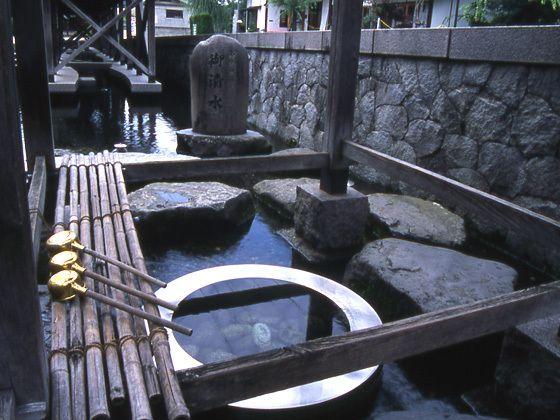 御清水 - 名水のまち 越前おおの観光ガイド