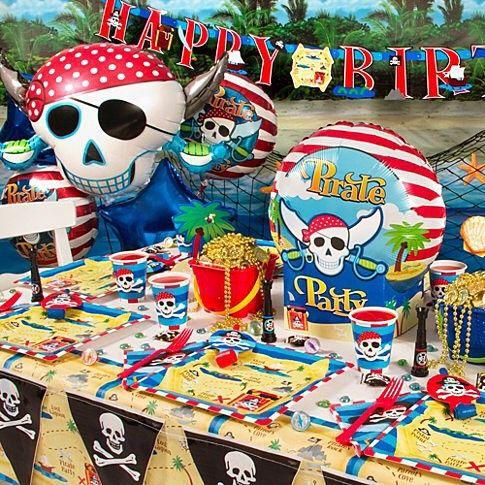 #PartiPaketi #Pirate #Korsan #Doğum #Günü #Kutlama #Seti  #Happy #Birthday