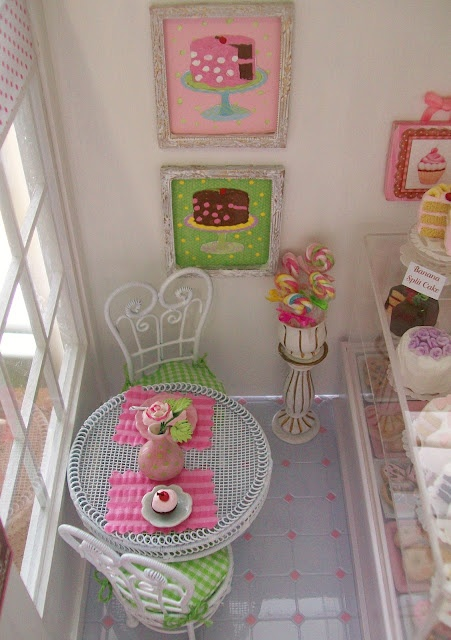 Its the Little Things...Barbie Bakery. Have to make room for this in lil's dollhouse!