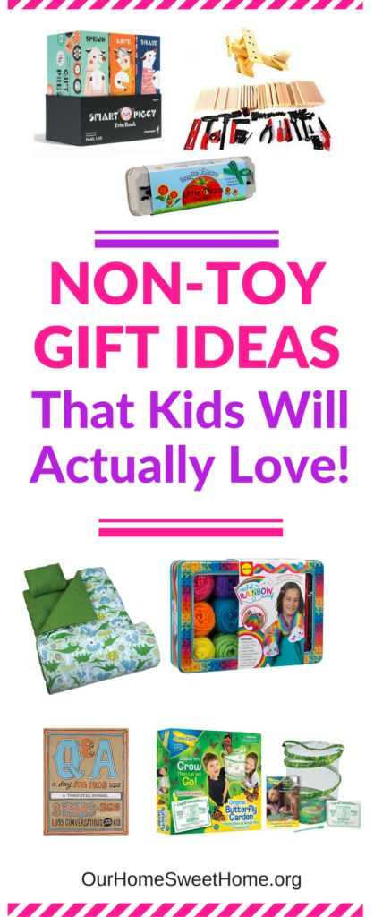 Non-Toy Gift Ideas That Kids Will Actually Love - cultivate a hobby, inspire learning, practical gifts, or just plain fun gifts!