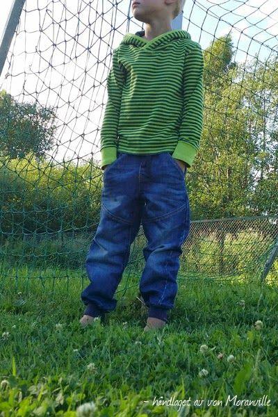Enkel hettegenser. Easy to make hoodie. Lillestoff. Ottobre design.