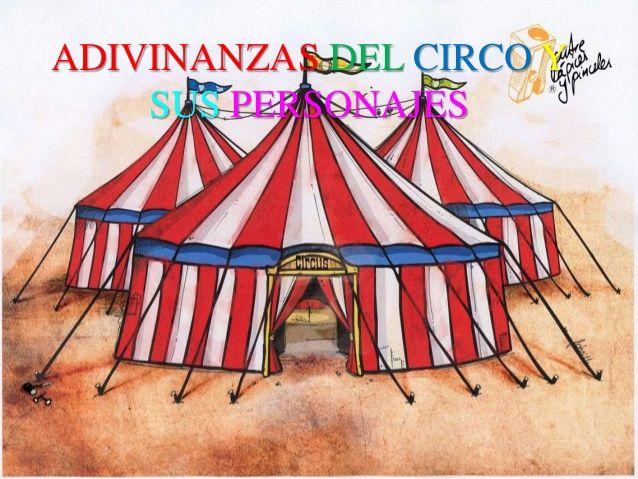 Adivinanzas del circo y sus personajes