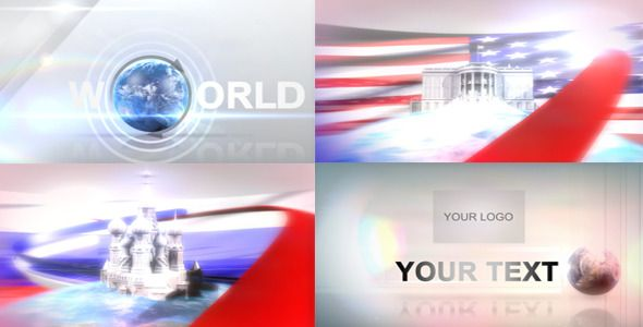 World travel animation