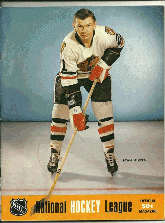Chicago Blackhawks Program (1969) -