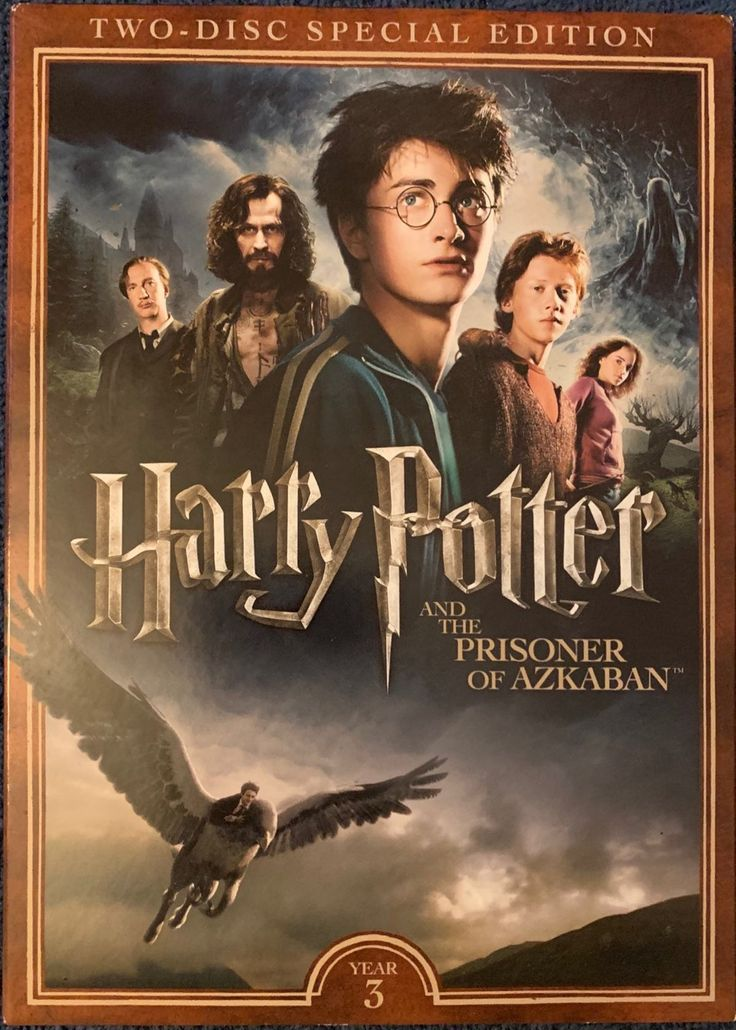 Harry Potter The Prisoner Of Azkaban Dvd In 2021 Harry Potter Poster Prisoner Of Azkaban Harry Potter