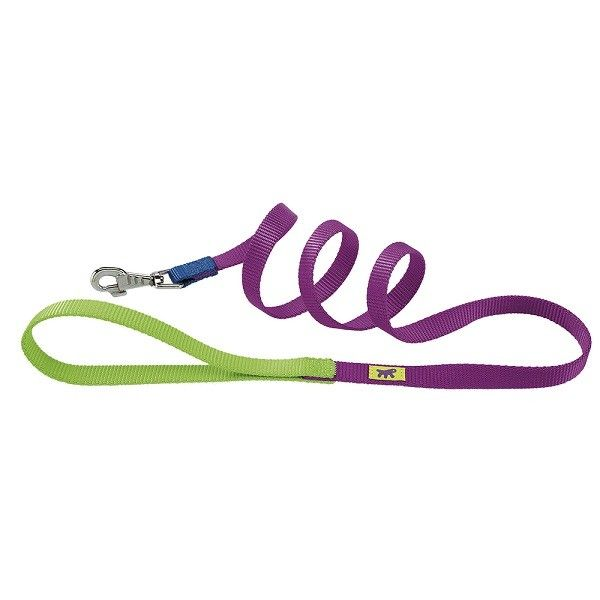 GUINZAGLIO CLUB G COLOURS G20-120 VIOLA   Guinzaglio per cani in nylon, 4 misure e 2 combinazioni colore  5,50 €  https://www.pets-house.it/guinzagli-nylon-e-similpelle/4109-guinzaglio-club-g-colours-g20-120-viola-8010690130361.html