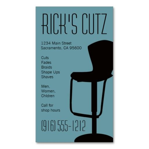 17 best images about barber business cards on pinterest for Barber shop business cards