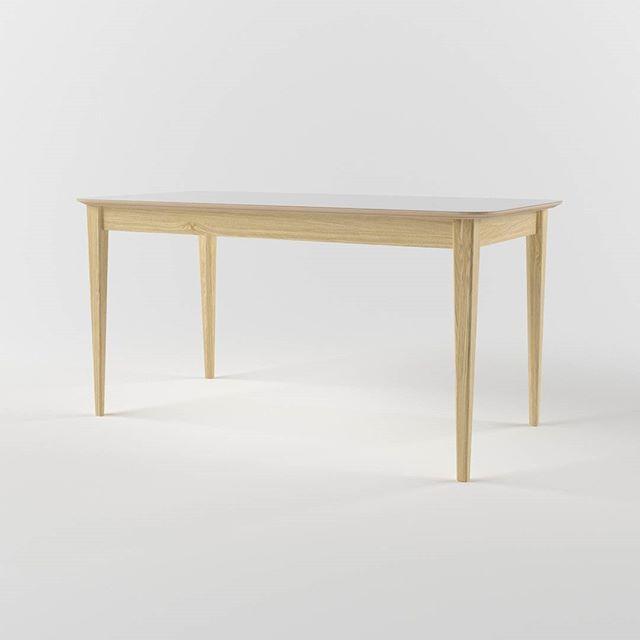 Стол с другого ракурса. Основание - дуб, столешница - ламинированная водостойкая фанера. Принимаем заказы. #стол #красиваямебель #lulustore #мебель #мебельмосква #мебельназаказ #делаеммебель #интерьер #дизайнинтерьера #furnituredesign #furnituremaker #furniture