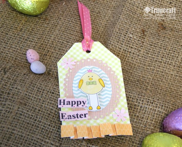 42 best easter project ideas images on pinterest ideas for 10 minute makes easter gift tags negle Image collections