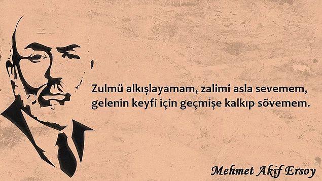 79. Ölüm Yıldönümünde Milli Şair Mehmet Akif Ersoy'u 12 Sözüyle Anmak