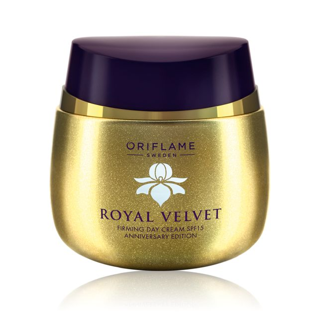 Royal Velvet Firming Day Cream SPF 15 Anniversary Edition #oriflame
