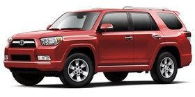 Toyota 4runner....my car but mine is a pearl white :)