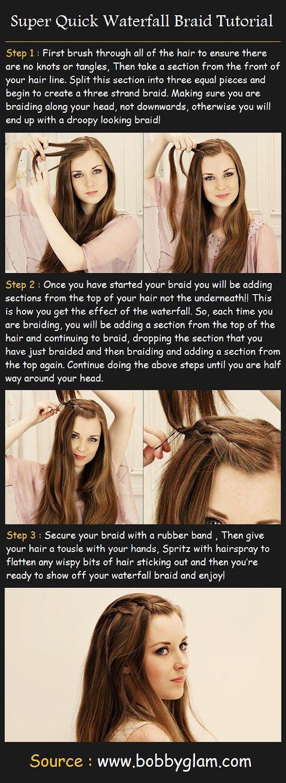 braided bangs tutorial - photo #16